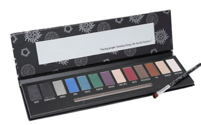 Hot Topic - I used a mix of humor and research for this makeup palette that became a weekly Top 5 Bestseller.