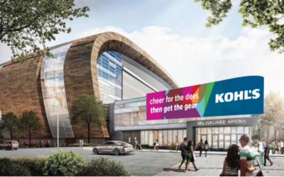 Kohl's - Our tagline was used in the new Milwaukee Bucks stadium, which attracted audiences for the NBA finals.