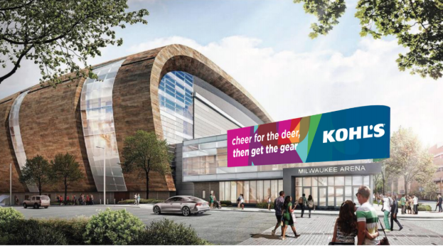 Kohl's - We worked with Strategy and Design teams to create this line that appeared in the Milwaukee Bucks arena.