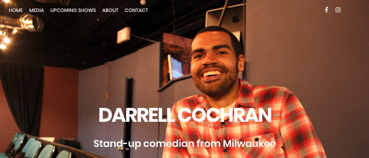 Comedian Multi-page Website