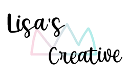 lisas creative logo transparent - not tilted - very small